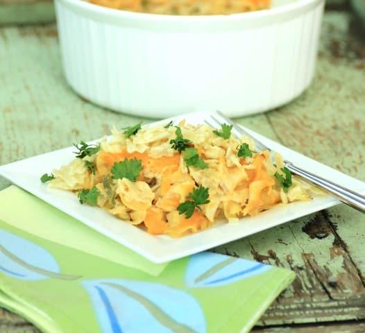 Tuna Noodle Casserole (Small) (2)