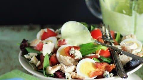 Wendy's Copycat Chicken BLT Cobb Salad