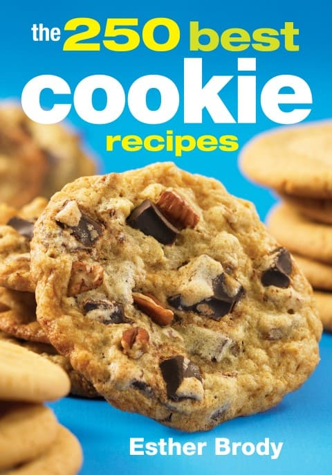 250 Best Cookie Recipes Cookbook Cover