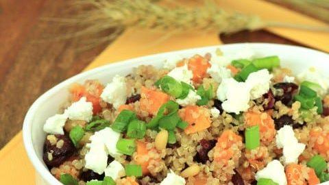 Sweet Potato and Quinoa Salad #TheSaladBar