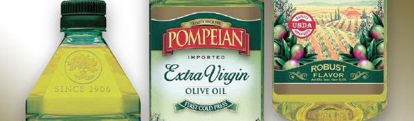 pompeian olive oil banner