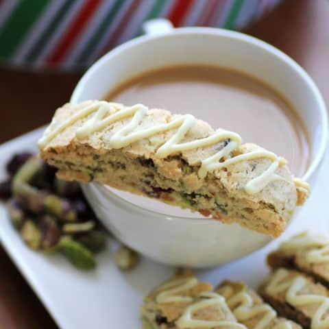 Cranberry Pistachio Biscotti by Noshing with The Nolands
