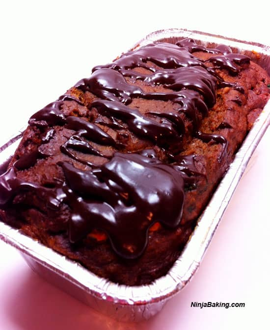 M & M Chocolate Pumpkin Loaf