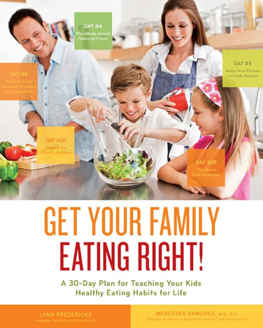 Get Your Family Eating Right cookbook cover