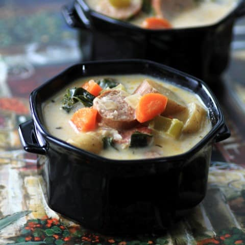 Sausage and Curly Kale Chowder by Noshing With The Nolands (Small)