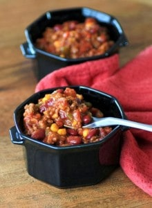 Slow Cooker Chili by Noshing With The Nolands
