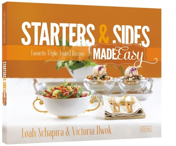 Starters & Sides Made Easy cookbook cover
