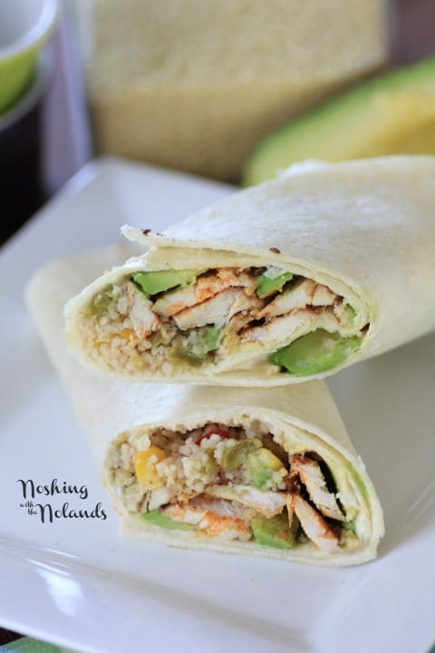 Chicken Couscous Wraps (2) (Small)