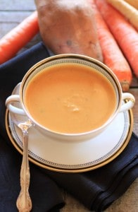 Cream of Roasted Vegetable Soup by Noshing With The Nolands