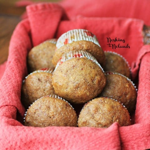 Pumpkin Pecan Muffins by Noshing With The Nolands