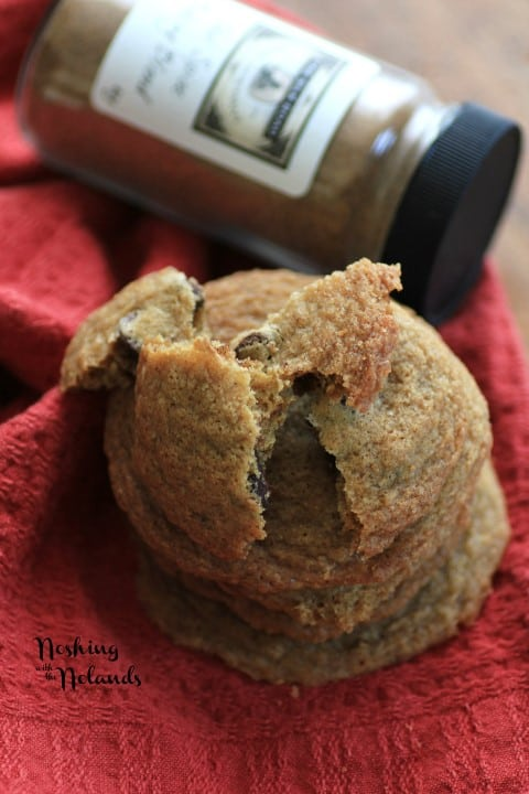 Chai Chocolate Chip Cookies by Noshing With The Nolands