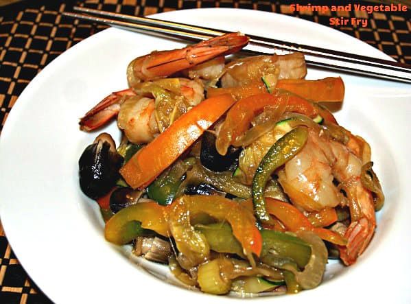 Shrimp and Veggie Stir Fry by A New York Foodie