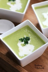 Spring Pea Soup #WeekdaySupper