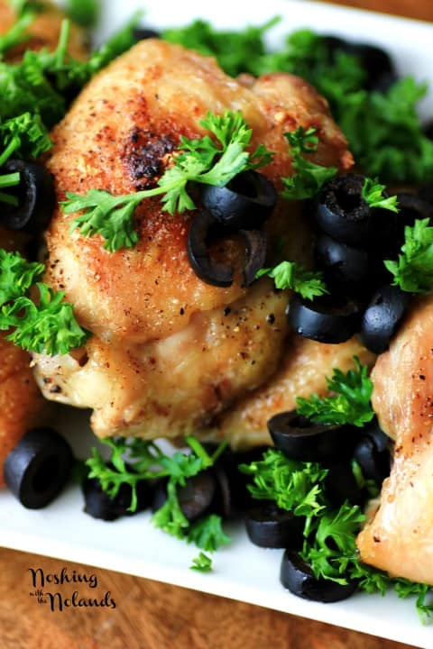 Chicken with Olives by Noshing With The Nolands