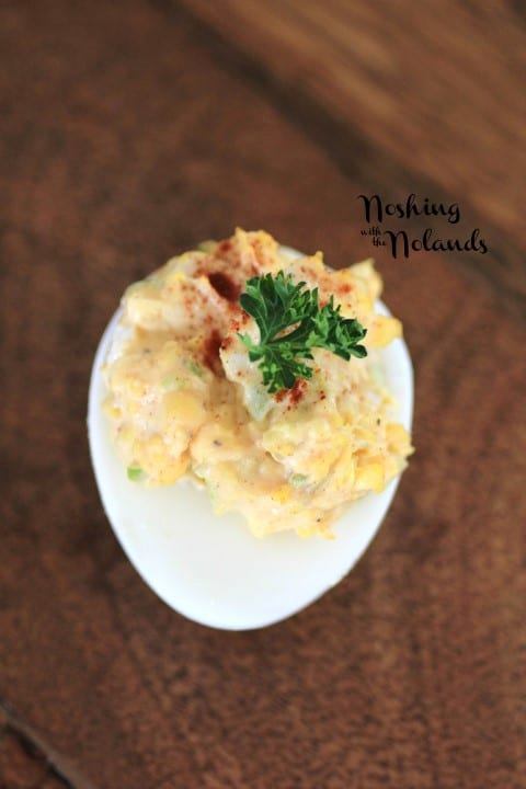 Egg Salad Deviled Eggs by Noshing With The Nolands