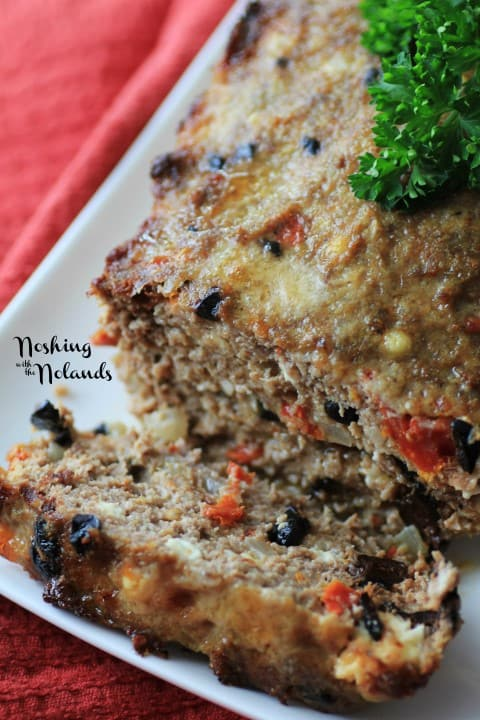 Mediterranean Meatloaf by Noshing With The Nolands