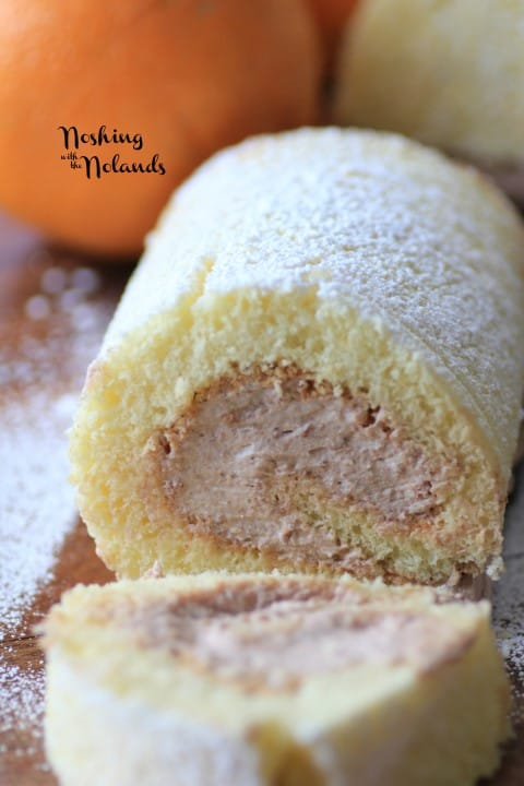 Orange Chocolate Swiss Roll by Noshing With The Nolands
