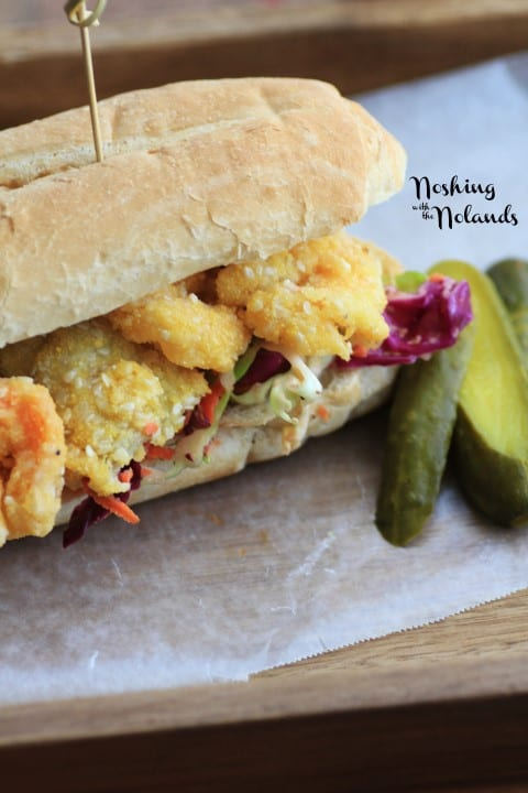 Shrimp and Artichoke Hearts Po' Boy by Noshing With The Nolands (4) (Small)