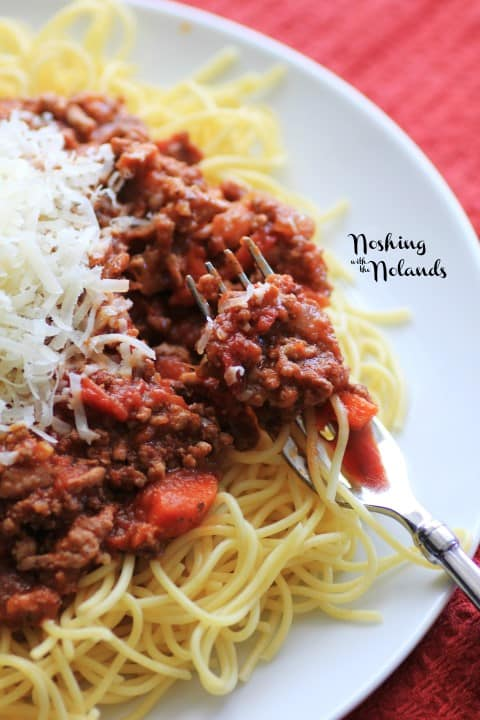 Spaghetti Bolognese by Noshing With The Nolands
