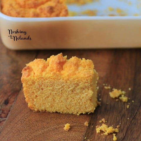 Sweet Potato Corn Bread by Noshing With The Nolands