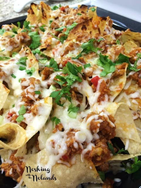 Turkey Chili Nachos by Noshing With The Nolands