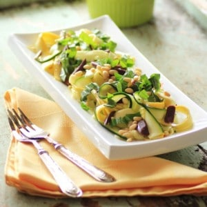 Mouth Watering Tuesday!!! Zucchini Tagliatelle