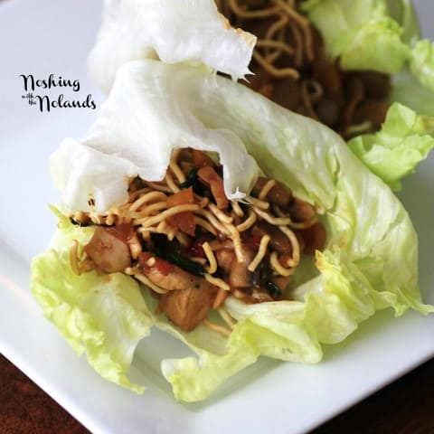 Asian Lettuce Wraps by Noshing With The Nolands