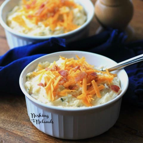 Boston Market Copycat Loaded Mashed Potatoes by Noshing With The Nolands