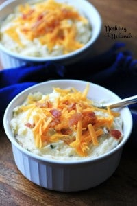 Boston Market Copycat Loaded Mashed Potatoes