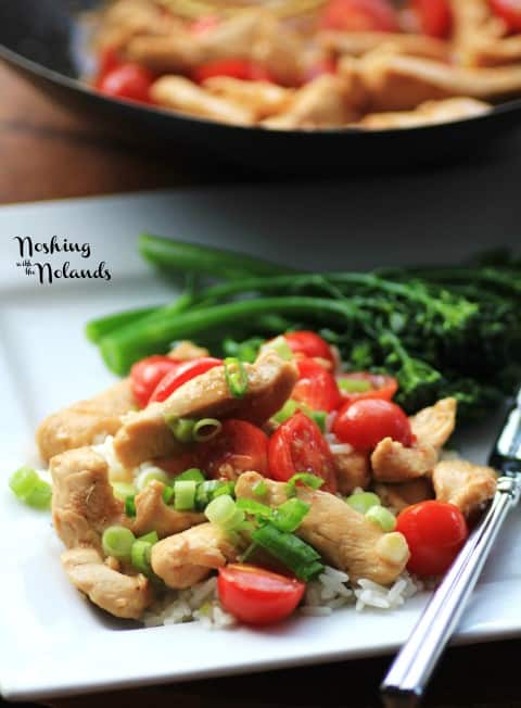 Chicken and Cherry Tomato Toss by Noshing With The Nolands
