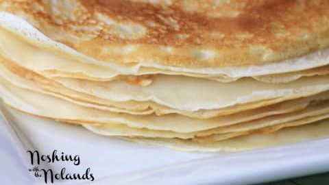 Crepes Lorraine for Mother's Day #SundaySupper