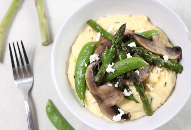 Goat's cheese polenta with asparagus and portobellos 5.jpg (2)