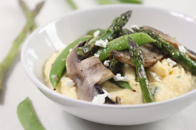 Goat's cheese polenta with asparagus and portobellos 7.jpg (2)