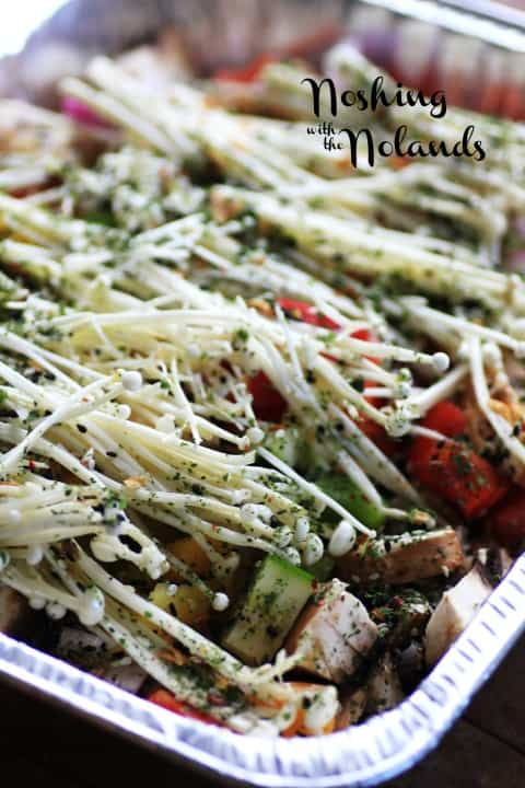 BBQ Veggies with Metropolitan Chef by Noshing With The Nolands