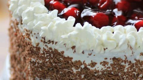 Black Forest Cake for Man Food #SundaySupper