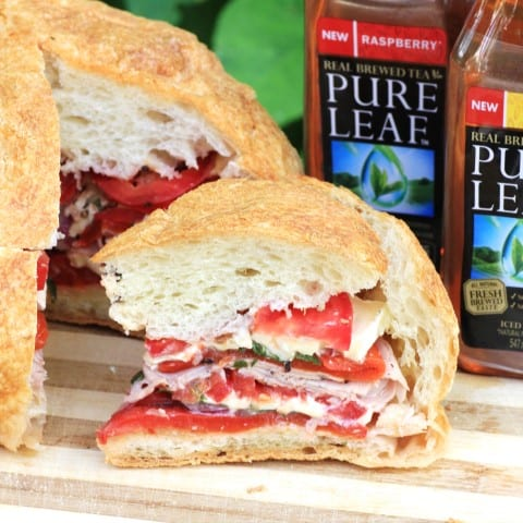French Pressed Picnic Sandwich by Noshing With The Nolands