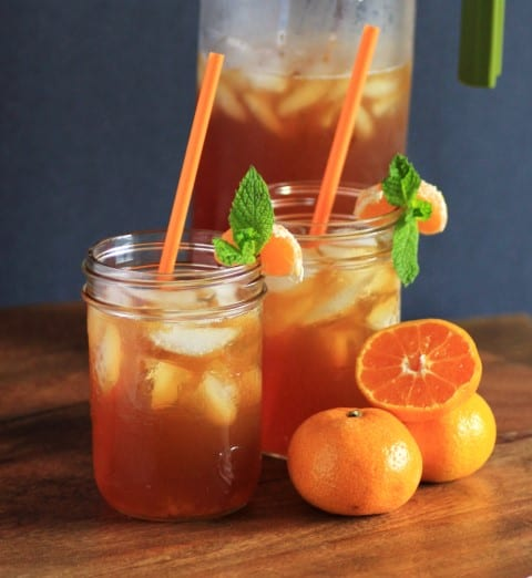 Mandarin Chai Iced Tea by Noshing With The Nolands
