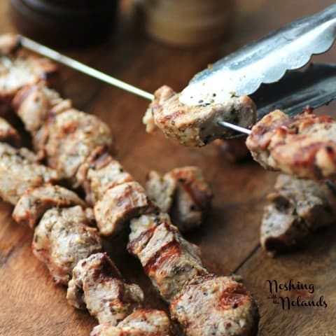 Pork Souvlaki by Noshing With The Nolands