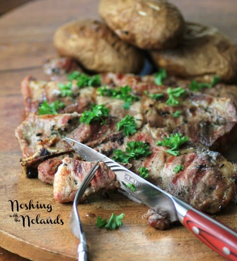 Pork Steaks with Metropolitan Chef by Noshing With The Nolands