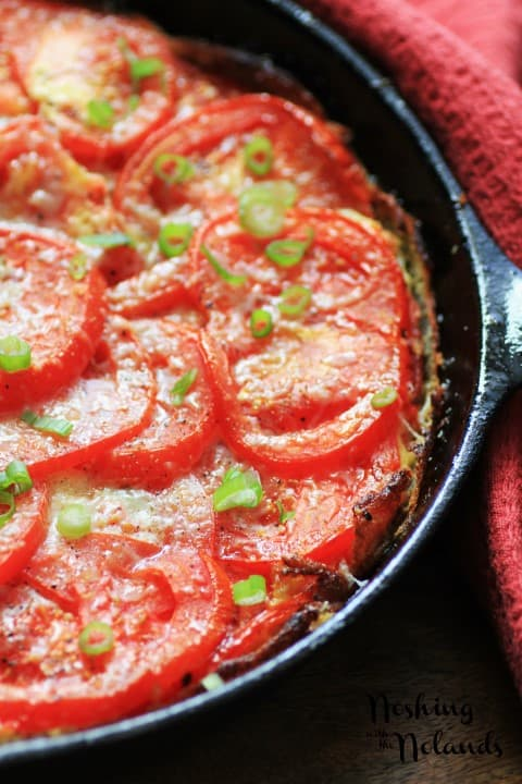 BBQ Tomato Firttata by Noshing With The Nolands