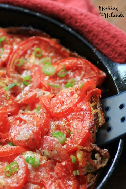 BBQ Tomato Frittata by Noshing With The Nolands