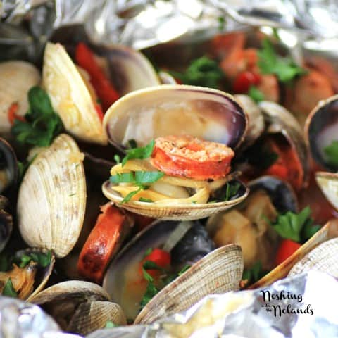 Grilled Clams with Chorizo by Noshing With The Nolands (2) (Small)