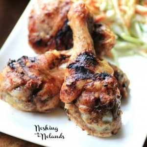 Jerk Chicken and Slaw for #WeekdaySupper