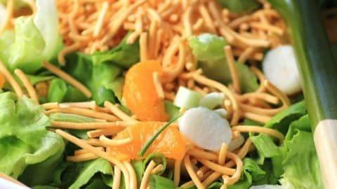 Korean Salad for Summer Chillin' #SundaySupper