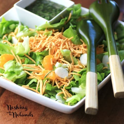 Korean Salad by Noshing With The Nolands