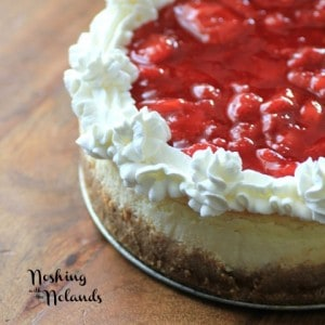 Light and Airy Strawberry Cheesecake for Canada Day by Noshing With The Nolands (7) (Small)