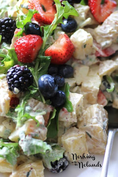 Berry Delicious Potato Salad by Noshing With The Nolands