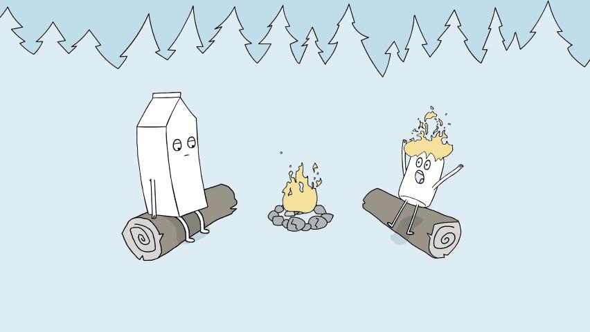 Milk Canada - Camping