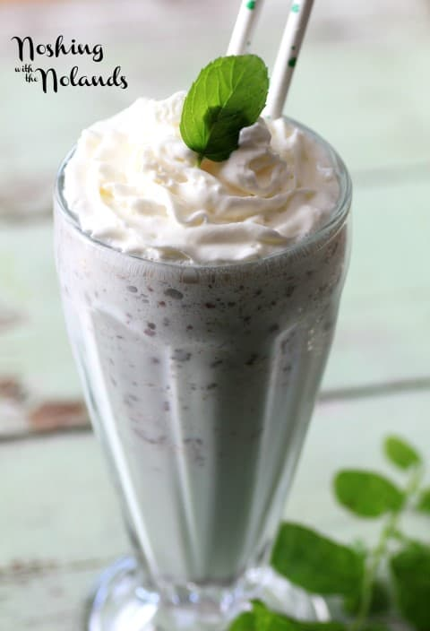 Chocolate Mint Frappe by Noshing With The Nolands