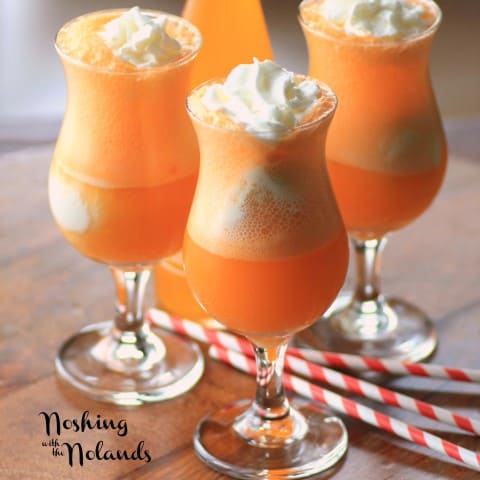 Orange Creamsicle Float